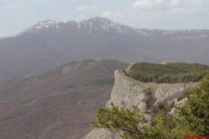 Вид с Ангарского перевала
