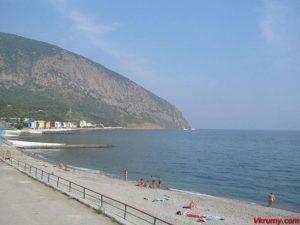 Пляж Артек